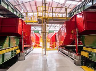 מפעל מיון הפסולת החדש בעפולה