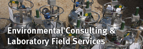 Environmental Consulting & Laboratory Field services
